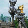 Pont Alexandre II bridge in Paris France. — Stock Photo