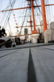 Ships Decking — Stock Photo