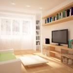 Colored modern interior — Stock Photo