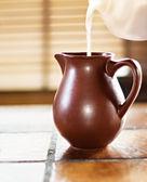 Brocca di latte — Foto Stock
