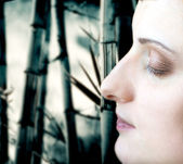 Women face — Foto Stock