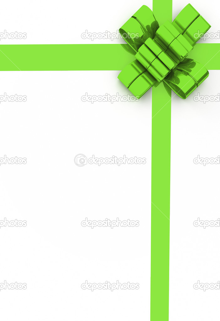 Gift card with bow — Stock Photo #2698043