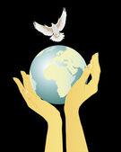 Valorizar a paz — Vetorial Stock