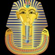 Royalty-Free Stock Vector Image: Mask of the Pharaoh