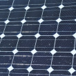Stock Photo: Dirty solar panels