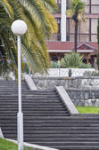 Staircase in park. — Stock Photo