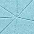 Azure stucco. — Stock Photo