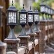 Street lamp. - Stock Photo
