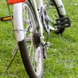 Stock Photo: Bicycle recreation device