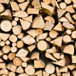 Royalty-Free Stock Photo: Stacks of Logs pattern
