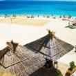 Summer beach bar holiday vacation - Stockfoto