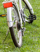 Bicycle recreation device — Stock Photo