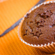Muffin cake chocolate sweet dessert — Stock Photo #2831035