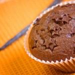 Muffin cake chocolate sweet dessert — Stock Photo