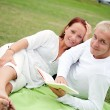Romantic picnic — Stock Photo