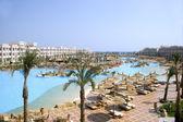 Resort hotel in Hurghada Egypt — Stock Photo