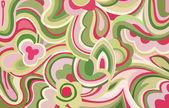 Retro swirls and curves — Stock Photo