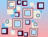 Retro squares pattern — Stock Photo