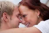 Romantic couple embracing — Stock Photo