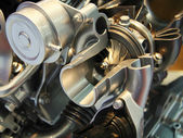 Engine tirbo-compressor — Stock Photo