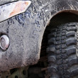 Dirty off road car — Stockfoto #3068715