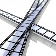 Film Strips - Foto Stock