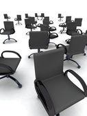 Chaises de bureau — Photo