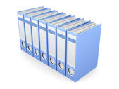 File Folders — Stock Photo