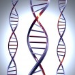 Stock Photo: Metal DNA