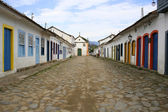 Street in Parati — Stock Photo