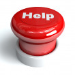 Help Button — Stock Photo