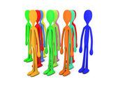 Diversity Crowd — Stock Photo
