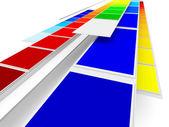 печать цвета — Стоковое фото