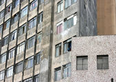 Rundown Facade in Sao Paulo — Stock Photo