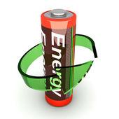 Rechargable Battery — Stock Photo