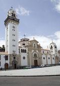 Basilica of Candelaria, Tenerife — Stock Photo