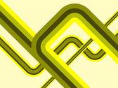 Ein abstraktes vektor-retro-hintergrund — Stockvektor
