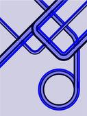 Retro pozadí abstraktní vektorová — Stock vektor