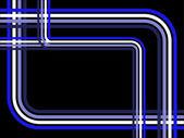 Illustration de fond rétro bleu — Vecteur