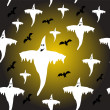 Royalty-Free Stock Vektorgrafik: A seamless Halloween background