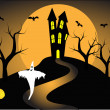 Royalty-Free Stock Vektorfiler: A halloween vector illustration