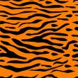 Tiger Stripe Seamless Background — Imagen vectorial