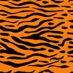 Tiger Stripe Seamless Background — Stock Vector