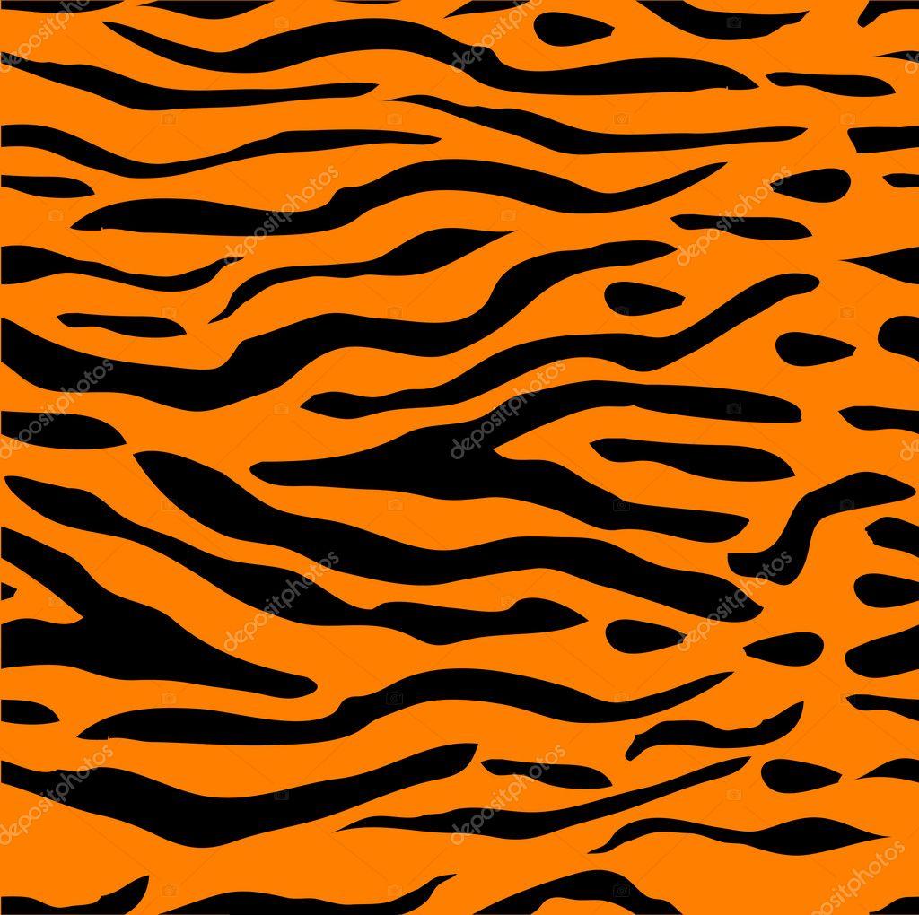 Рисунки полоски тигра
