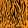 Royalty-Free Stock Vektorový obrázek: A seamless tiger stripe background
