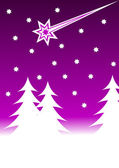 An abstract christmas vector background illustration — Stock Vector