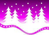 An abstract mauve christmas vector background illustration — Stock Vector