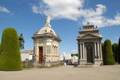 Crypts in Punta arenas cemetery, chile — Stock Photo