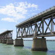 The old Railroad Bridge on Bahia Honda Key — Stock Photo
