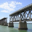 The old Railroad Bridge on Bahia Honda Key — Stock Photo #3795898